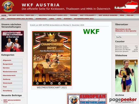 World Karate Federation Austria - WKF AUSTRIA