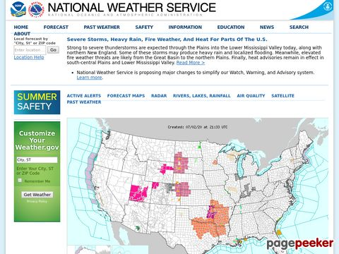 NOAAs National Weather Service