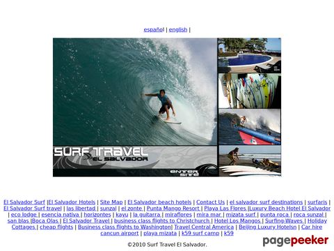 surfestravel.com - Surf travel El Salvador
