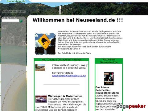 Neuseeland Informationen online von Neuseeland.de