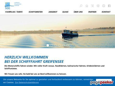 Schifffahrts-Genossenschaft Greifensee ZH