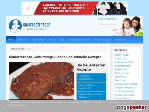 kinderrezepte.de - KINDERREZEPTE, FAMILIEN- und BREIREZEPTE