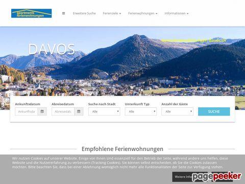 Ferienwohnungen in Davos; apartments in davos