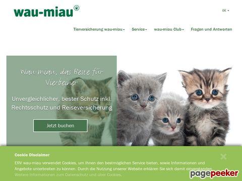 Wau-Miau - Die Tierversicherung für Hunde und Katzen