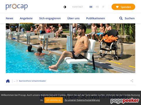 goswim.ch - Der Schwimmbadführer für Menschen mit Handicap