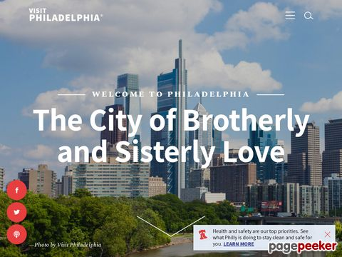 gophila.com - Official website for Philadelphia travel and tourism information