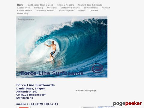 Force Line Surfboards Int. Quality Boards From Switzerland!
