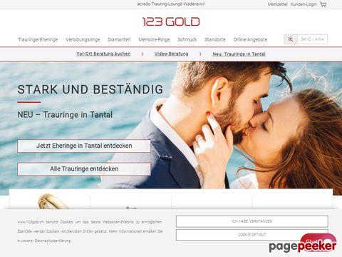 Trauringe 123gold Schweiz