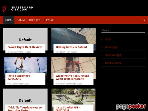 skateboard-city.com - Skateboarding forum community at Skateboard-City