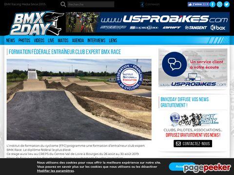 BMX2DAY - BMX-Portal (Französisch)