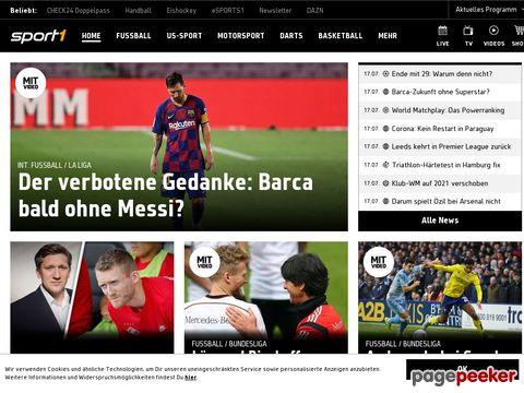 Sport1.de - Deutschlands größtes Sportportal
