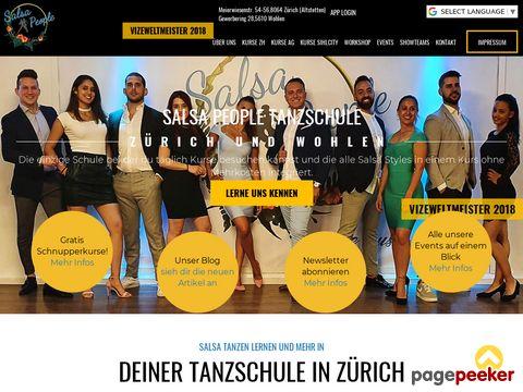 salsapeople.ch - Salsa Tanzschule in Zürich, Tanzen Akademie