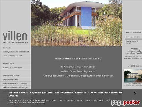 Villen.ch - exklusive Immobilien, Villa, Villen, exklusive Immobilien