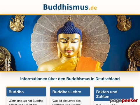 buddhismus.de - Buddhismus in Deutschland