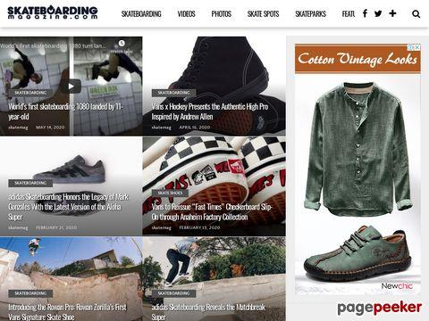 Skateboarding Magazine - Skateboard Mag - Skate Magazine