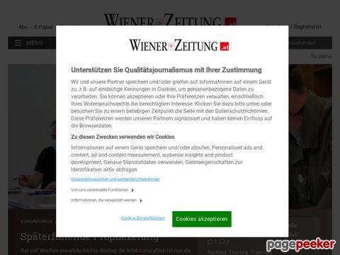 Wiener Zeitung Online - WZ Online (Oesterreich)