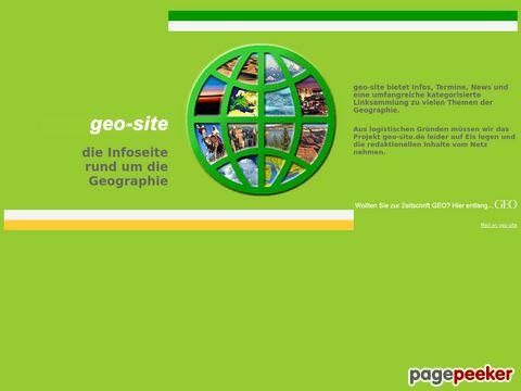 geomagazin.net - Links und Infos zur Geographie und Erdkunde
