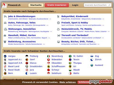 pinwand.ch - die virtuelle CH - Pinwand