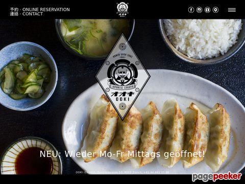 OOKI | Japanese Izakaya | Ramen Udon Sake | ZURICH