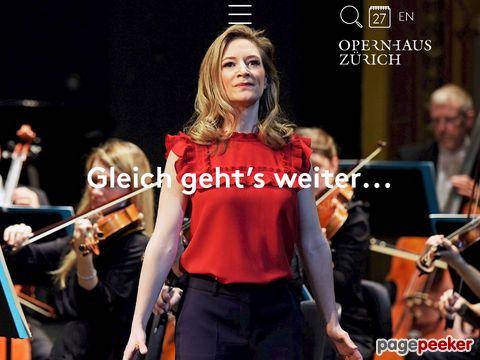 Zurich Opera House - Opernhaus Zürich