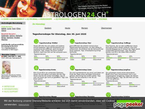 astrologen24.ch - Gratis Tageshoroskope