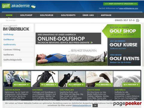 golfakademie-gmbh.de - Golfkurse, Platzreife, Golf Shop