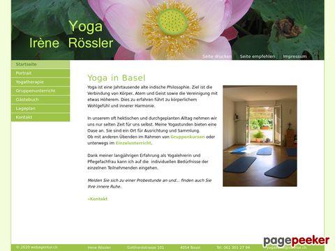 yogairene.ch - Yoga Basel