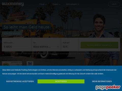 auxmoney.com – Geld leihen & verleihen - Kredite von privat an privat