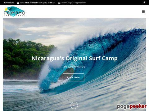Surfing Nicaragua - Popoyo Surf Lodge