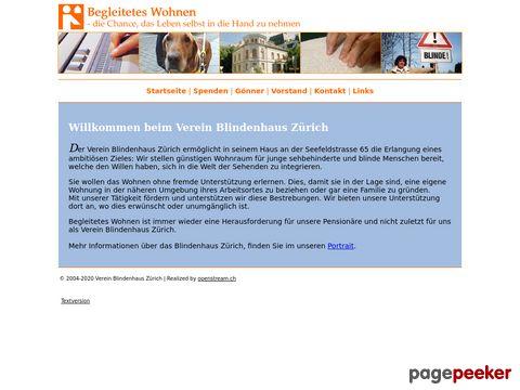 Verein Blindenhaus Zürich