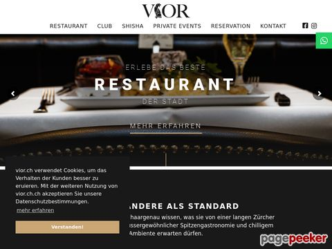 Vior - Club, Restaurant, Private Events
