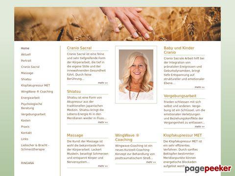 well-being.ch - Massage Elisabeth Rieser - Massage Zuerich