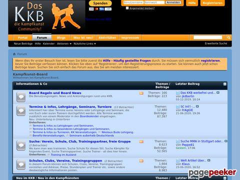 kampfkunst-board.info - Forum