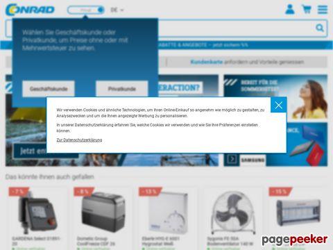 Conrad Electronic - Europas führendes Versandhandelsunternehmen für Elektronik und Technik