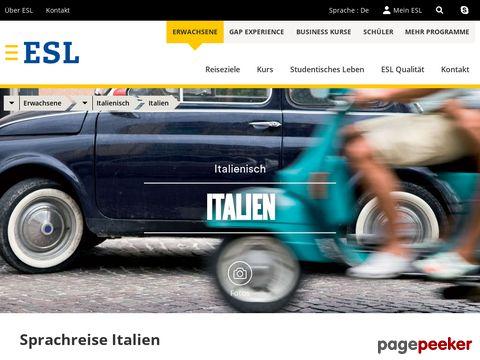 ESL - Italienisch lernen in Italien