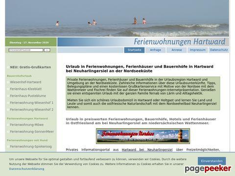 Ferienwohnungen Hartward (Ostfriesland)
