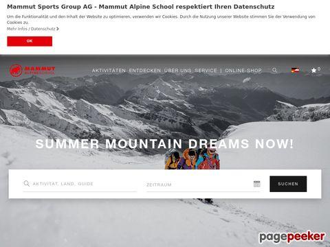 MAMMUT ALPINE SCHOOL / BERGSCHULE URI