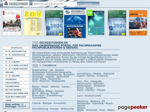 1001 Fachzeitschriften/Fachzeitungen