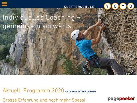 Klettern leicht gemacht - mit der Kletterschule YoYo