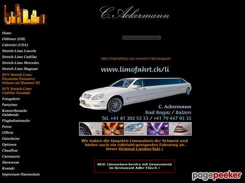 Galafahrten und Limousinenservice der funktioniert.