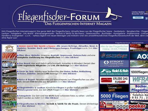 fliegenfischer-forum.de - DAS Fliegenfischen Internetmagazin