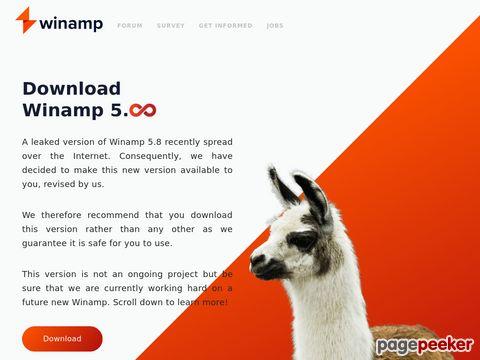 Winamp - MP3 - Player