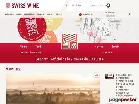 swisswine.ch - Swiss Wine Exporters Association - Société des exportateurs de vins suisses - Verband Schweizer Weinexporteure - SWEA