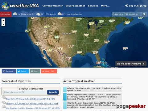 weatherUSA - Weather Information for the United States
