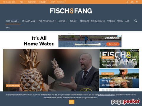 FISCH & FANG: Fisch und Fang online (DE)
