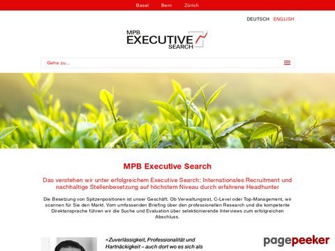 Headhunter - MPB Recruitment Group AG