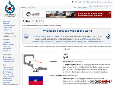 Atlas of Haiti - Haiti - Maps