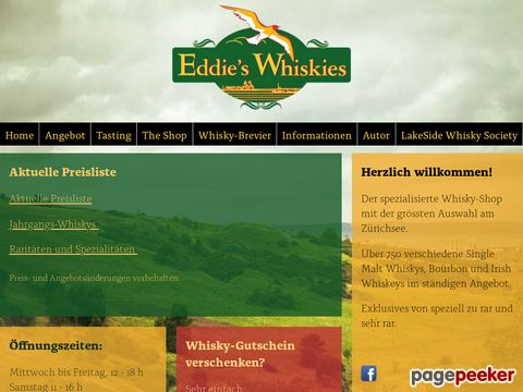 Eddie's Whiskies