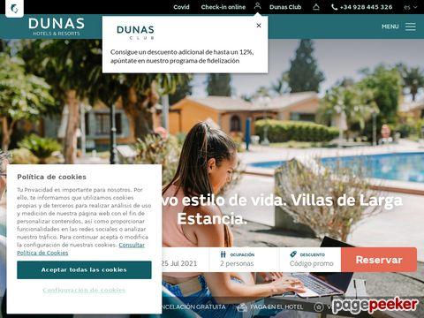 Hotel Dunas und Resort: Strandurlaub in unseren Hotels auf Gran Canaria, Tenerife und Fuerteventura.