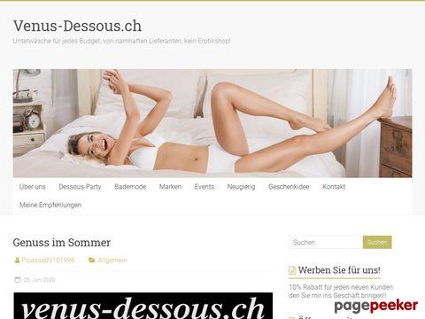 Venusdessous - Erotik Store